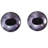 dark purple unicorn glass eyes