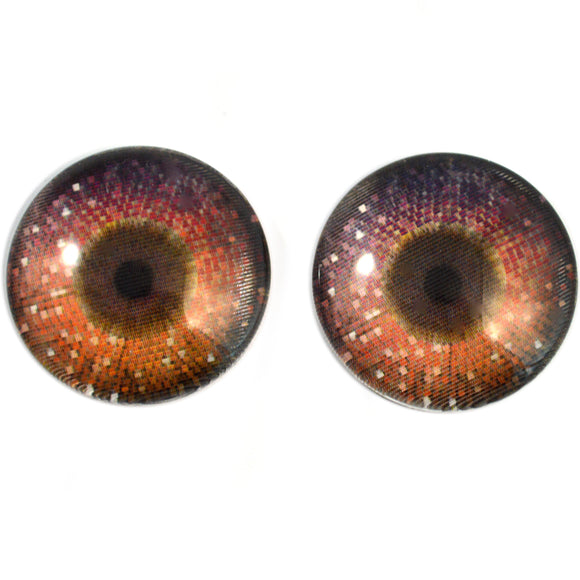25mm Dazzling Disco Animated Glass Eyes