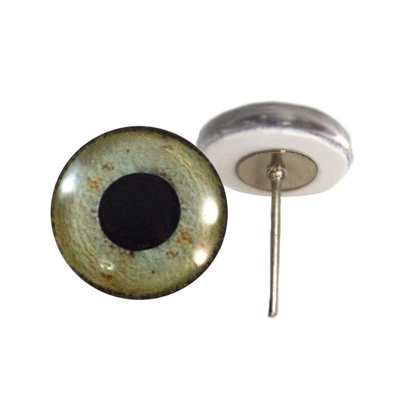 Eagle Glass Eyes on Wire Pin Posts