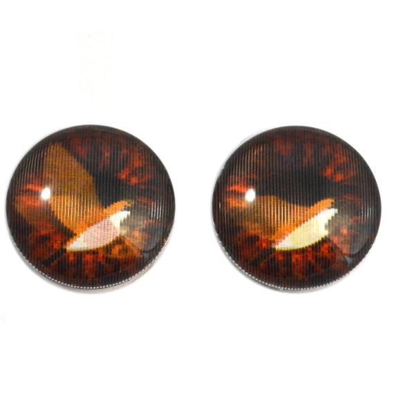 20mm Flying Bird Animated Glass Eyes