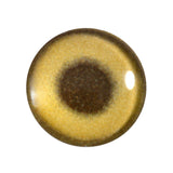 gold metallic glass eye