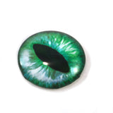 Green Cat Glass Eye
