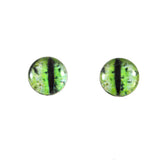 Green Grunge Dragon Glass Eyes