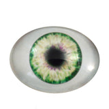 Green Oval Doll Glass Eye