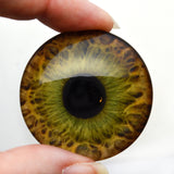 40mm Hazel Human Glass Eyes