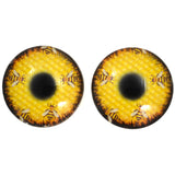 Honeycomb Bees Glass Eyes