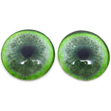 Jade Green Jaguar Glass Eyes