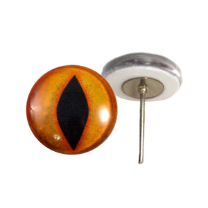 Legendary Devil Glass Eyes on Wire Pin Posts
