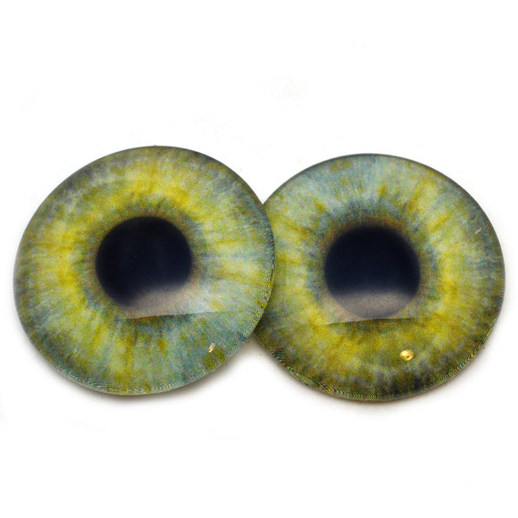 Light Green Human Style Glass Eyes