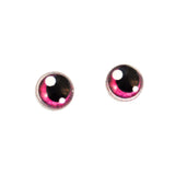 Pink Anime Glass Doll Eyes with Shines