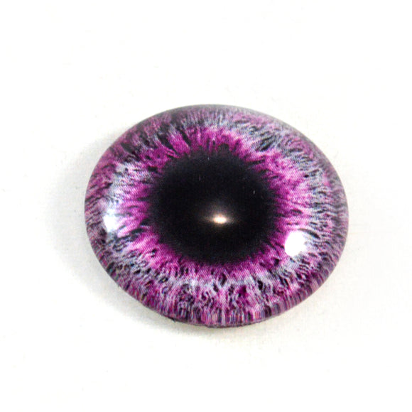 Dark Pink Glass Eye
