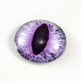 Light Purple Cat or Dragon Glass Eye