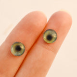 Realistic Green Human Glass Eyes