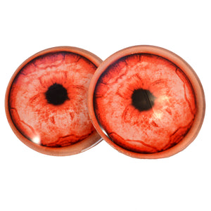 Red Albino Werewolf Eyes
