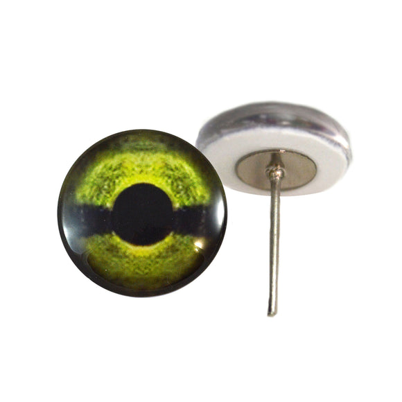 Sea Turtle Glass Eyes on Wire Pin Posts