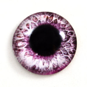 Sparkling Pink Glass Eye