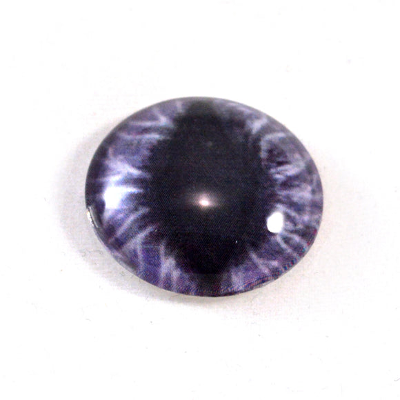 Wide Purple Dragon Glass Eye
