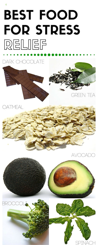 superfoods, stress relief, healthy foods