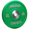 The Hammer Strength Urethane Bumpers are textured to resist wear and tear. The bumpers are made with a high grade steel and covered in urethane. Bumper is 10kg, Green.
