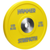 The Hammer Strength Urethane Bumpers are textured to resist wear and tear. The bumpers are made with a high grade steel and covered in urethane. Bumper is 15kg, Yellow.