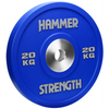 The Hammer Strength Urethane Bumpers are textured to resist wear and tear. The bumpers are made with a high grade steel and covered in urethane. Bumper is 20kg, Blue.