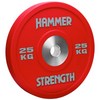 The Hammer Strength Urethane Bumpers are textured to resist wear and tear. The bumpers are made with a high grade steel and covered in urethane. Bumper is 25kg, Red.