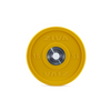 The Solid Colour Training Bumper Discs have a large hard chrome hub with urethane surface coating.