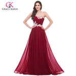 Elegant Long Chiffon Green Red Pink Purple Bridesmaid Dress