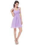Ever Pretty Spaghetti Straps Short A Line  Bridesmaid Dress