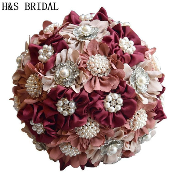 H&S BRIDAL Bridesmaid Flower Wedding bouquet