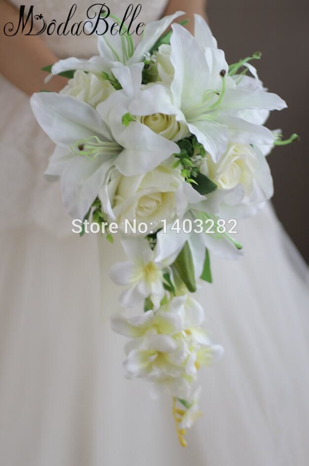 Waterfall Lily Bridal Bouquets