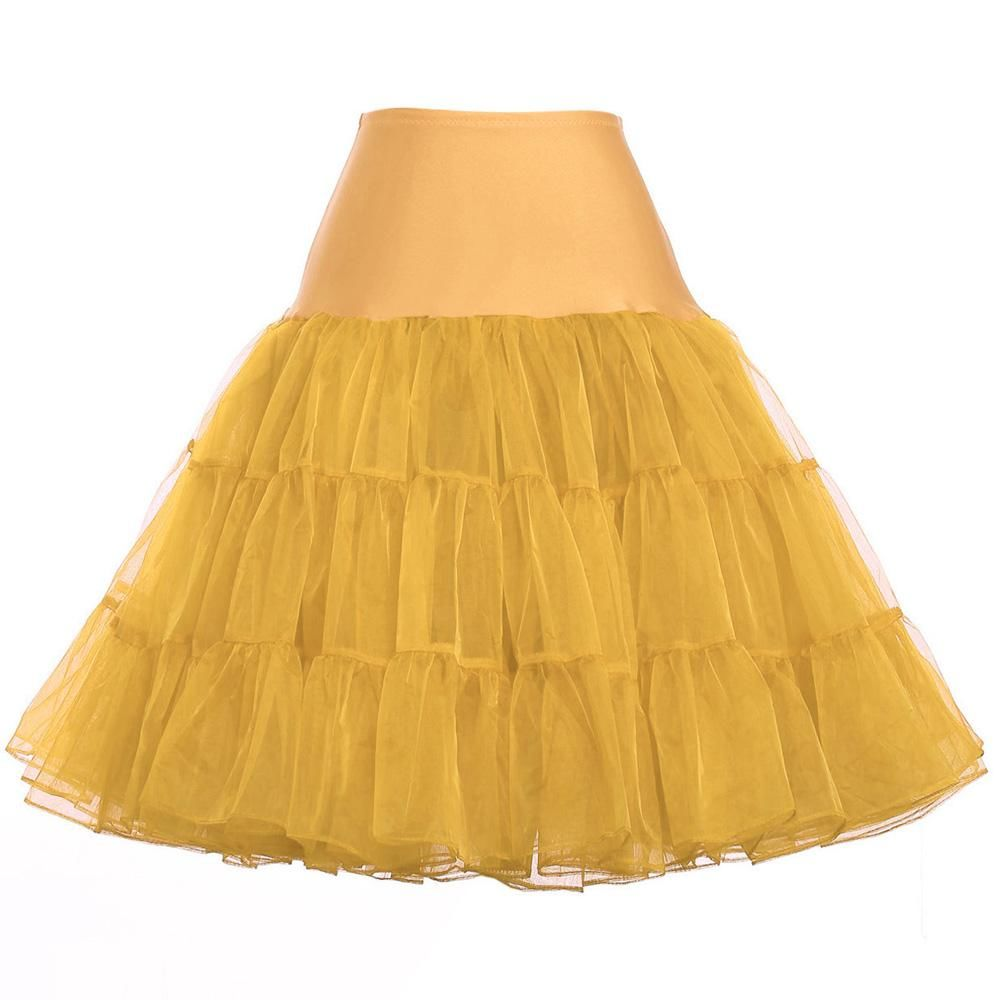 Short Petticoat Underskirt Colorful Bridal Petticoats For Wedding Dres