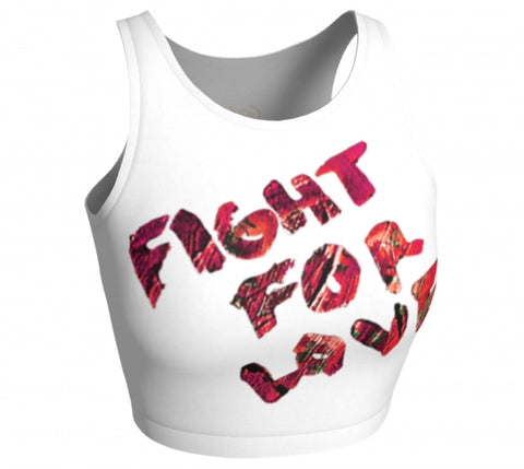 Fight For Love Crop Top