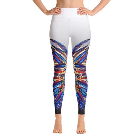 Warrior Leggings (White)