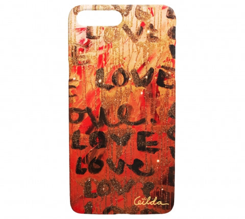 LoveLoveLove iPhone Case