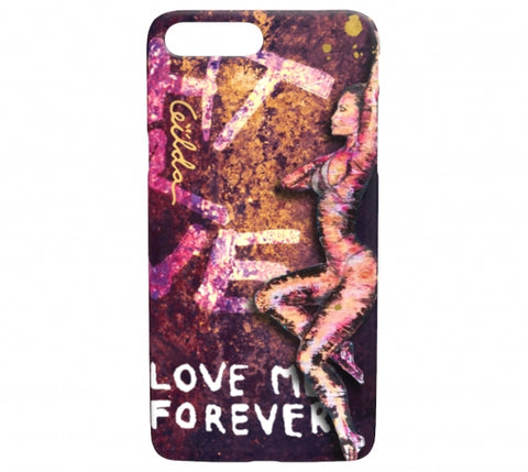 Love Me Forever iPhone Case
