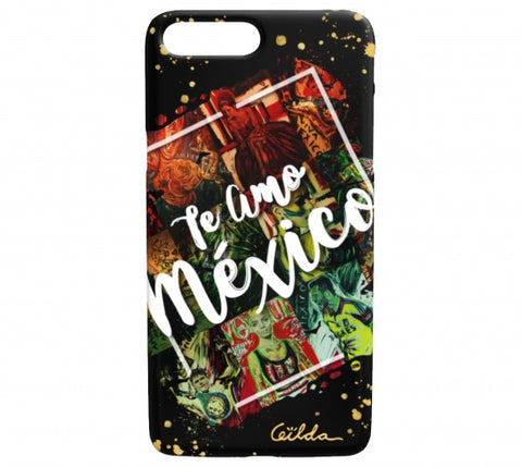 Te Amo Mexico iPhone Case