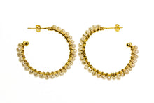 Grace Pearl Hoops