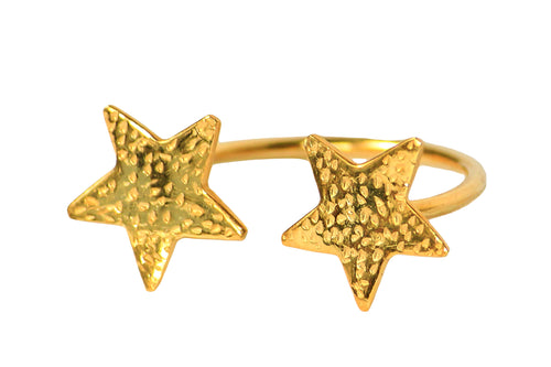 Duo Star Ring