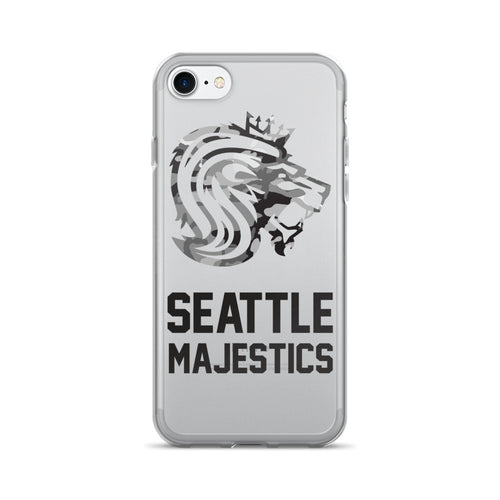 Seattle Majestics Camo Limited Edition iPhone 7/7 Plus Case