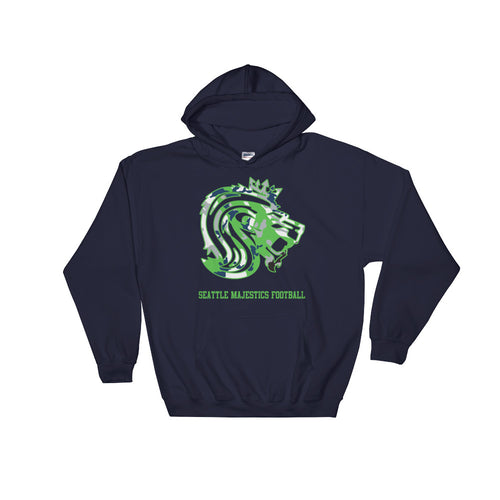 Seattle Majestics Limited Edition Camo Hoodie