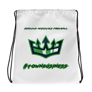 Seattle Majestics #TownBusiness Drawstring bag