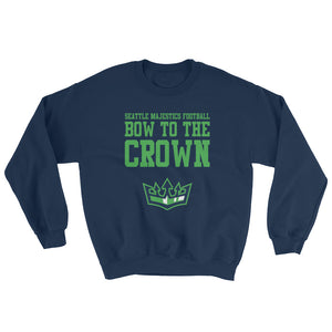 Seattle Majestics - Bow to the Crown Crewneck