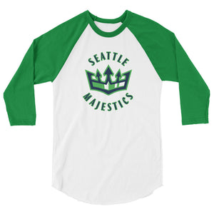Seattle Majestics Baseball T-Shirt with Crown Logo