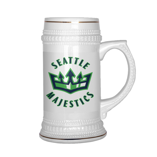 Seattle Majestics Beer Stein