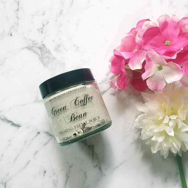 Green Coffee Bean Facial Scrub