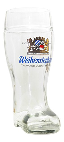 Weihenstephaner Glass Boot 1 Litre