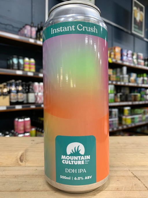 Mountain Culture Instant Crush DDH IPA 500ml Can