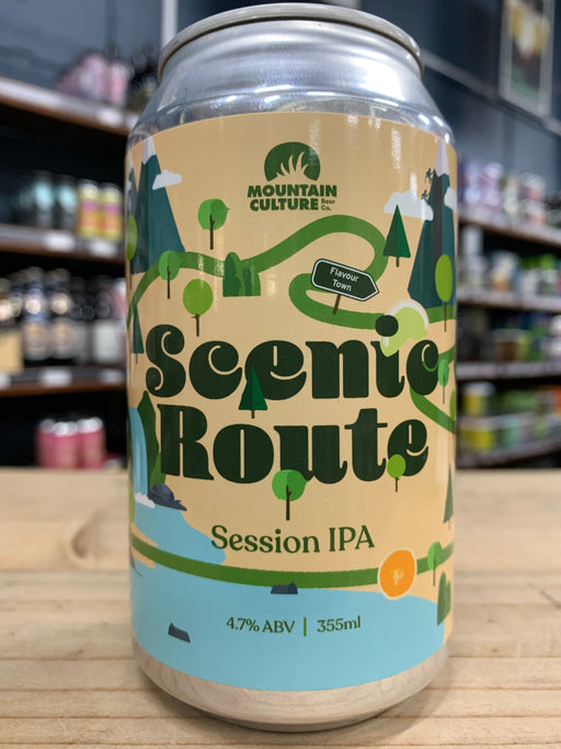 Mountain Culture Scenic Route Session IPA 355ml Can