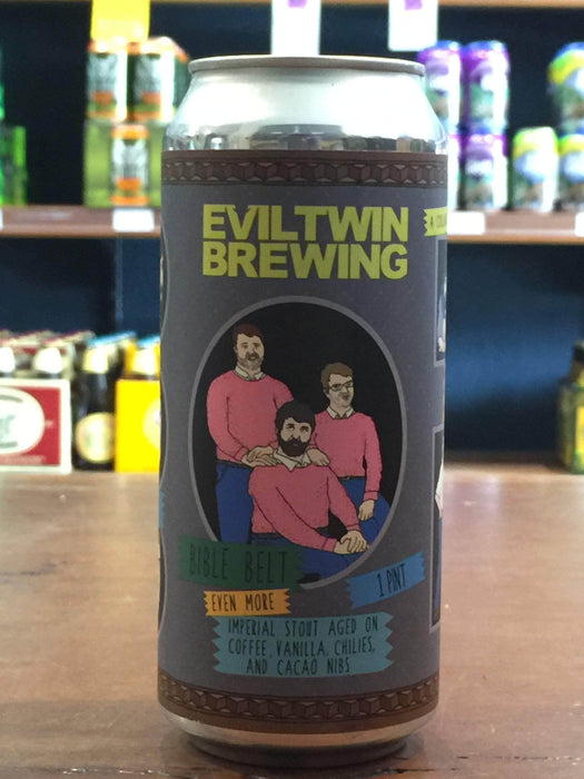 Evil Twin Bible Belt Imperial Stout 473ml Can - Purvis Beer
